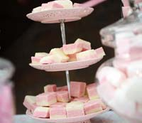 Creative sweet table for weddings