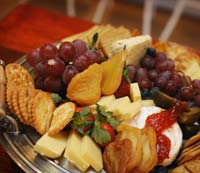 cheese platters - catering
